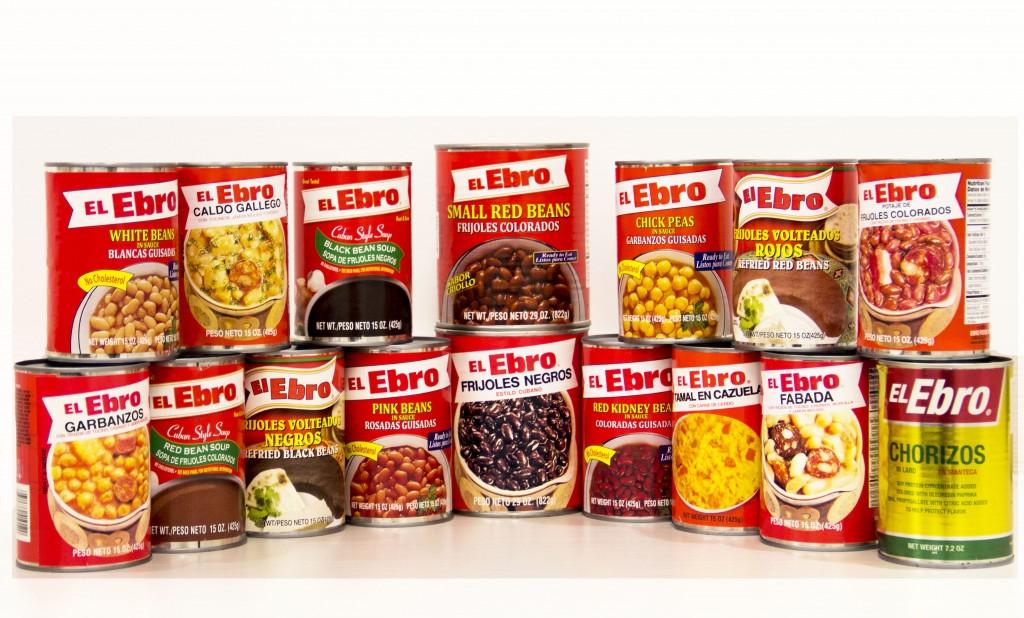 El Ebro Canned beans